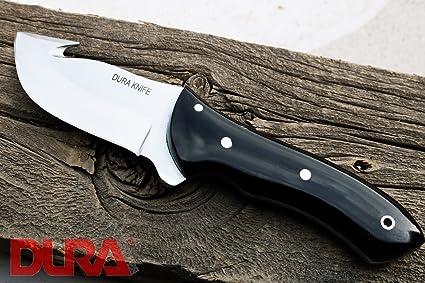 Amazon.com: Dura cuchillos dk-14 cuerno de búfalo hoja de 3 ...