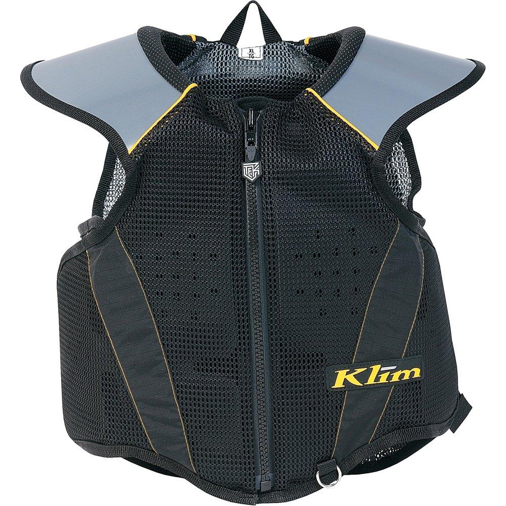 Klim Tek Youth MX Motorcycle Vest - Black / One Size by Klim