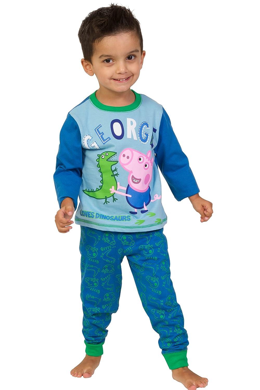 Pijama infantil de George, de Peppa Pig, 1 a 5 años Azul azul 4-5 Años: Amazon.es: Ropa y accesorios