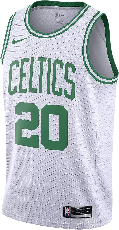 Nike BOS Mens NBA Swingman Home Jersey 864403-102 Size 2XL White