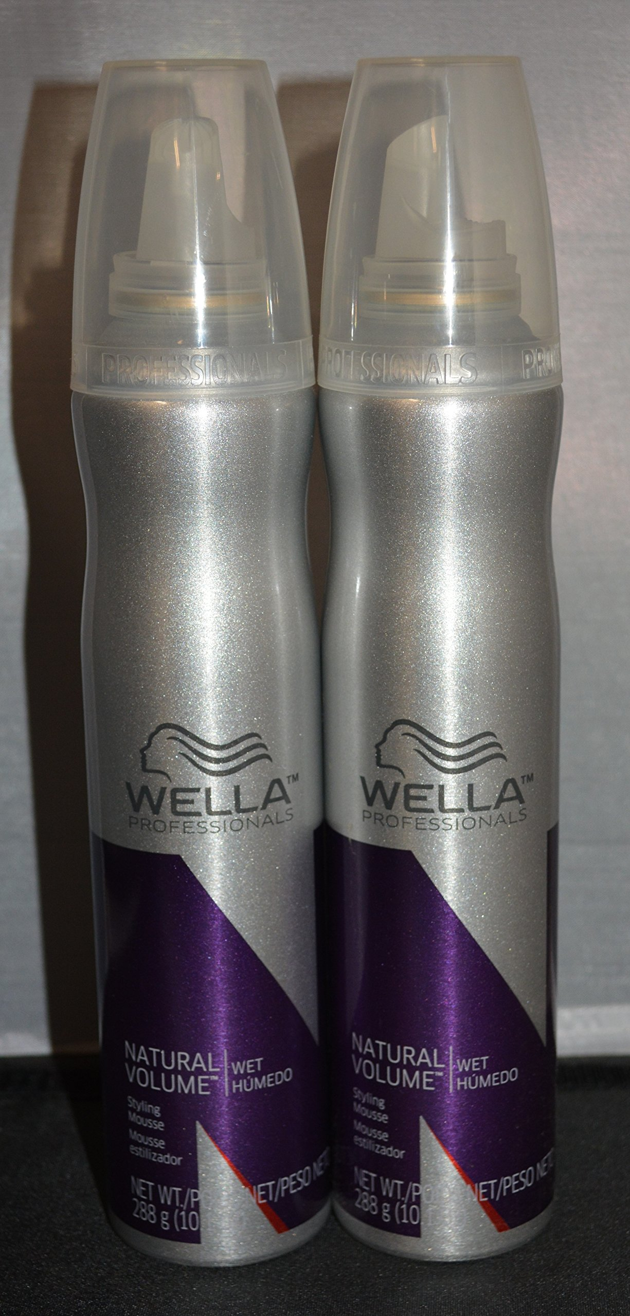 Wella Professionals Natural Volume Mousse 10.1 oz (2 pack) Gives Hair a Soft, Refined Hold