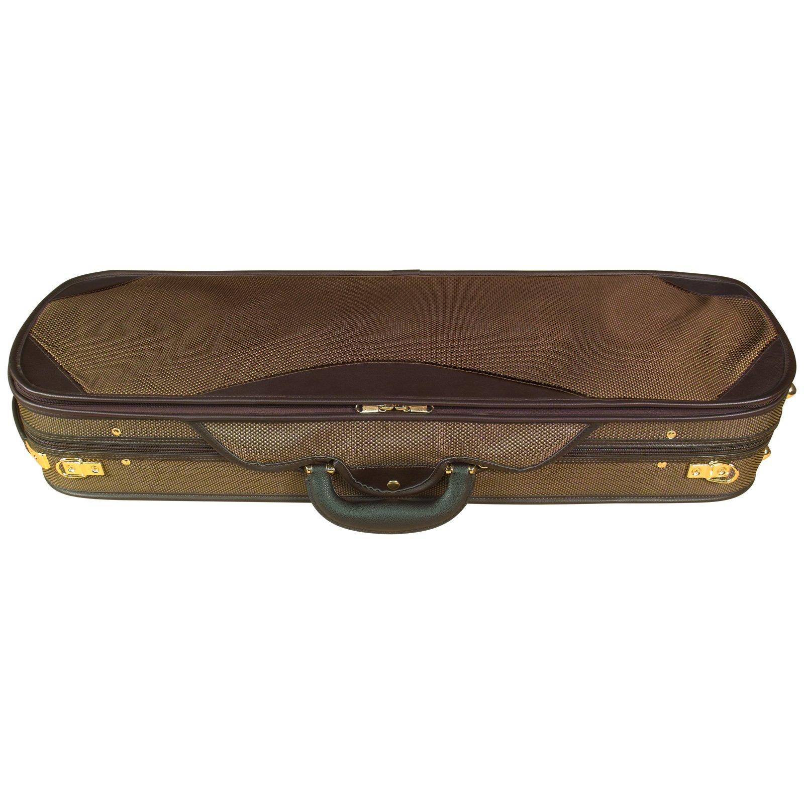 Baker Street BK-4020 Luxury Violin Case - Oblong by Baker Street Products (Image #2)