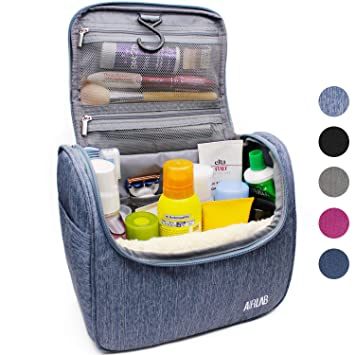 bad825663d Amazon.com  Hanging Toiletry Bag