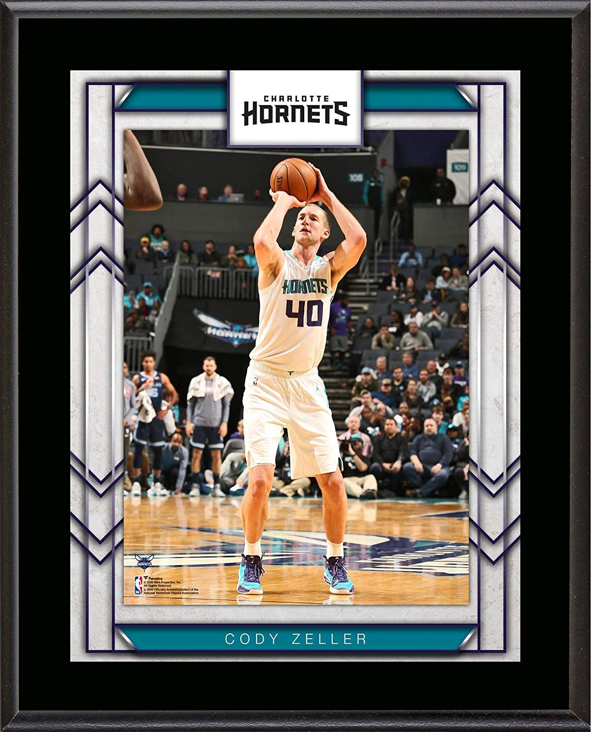 Cody Zeller Charlotte Hornets 10 5 X 13 Sublimated Player Plaque Nba Team Plaques And Collages At Amazon S Sports Collectibles Store