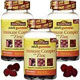 Nm Immune Cmplx Adult Gum Size 60ct Pv Immune Complex W/Zinc Adult Gummies Pack of 3