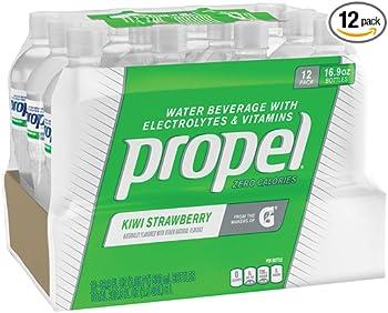 12-Pack Propel Zero Calorie 16.9oz Fitness Water