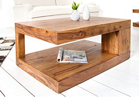 Shiv Shakti : Sheesham Wood Coffee Table, Center Table, Living Room Table,  Solid Wood Table for Living Room