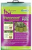 Tierra Garden 50-VIG11 Haxnicks 5.3 Gallon Vigoroot Pots, 3-Pack