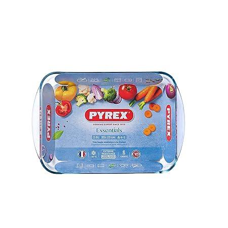 Pyrex Essentials - Molde para Horno (Resistente al Calor, con Asas ...