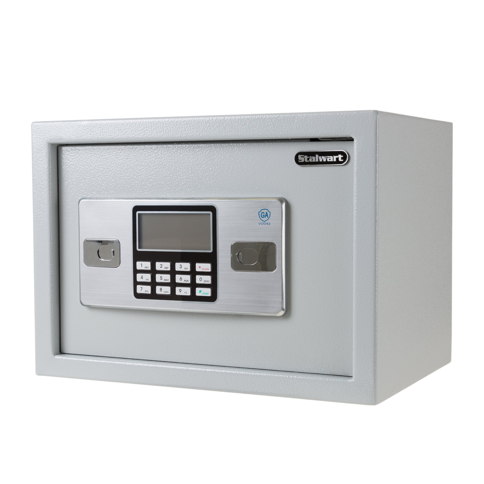 Electronic Digital Keypad Personal Home Safe – Dual Key Entry Wall or Floor Mount for Medicine, Jewelry, Handgun, Cash or Documents