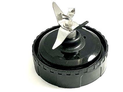 6 Fins iLosga Replacement Bottom Blade 6 Fins for Nutri Ninja Auto iQ BL660 BL770 BL771 BL772 BL773CO BL780 Nutri Ninja Blender Auto iQ 6 Fins Blade Assembly