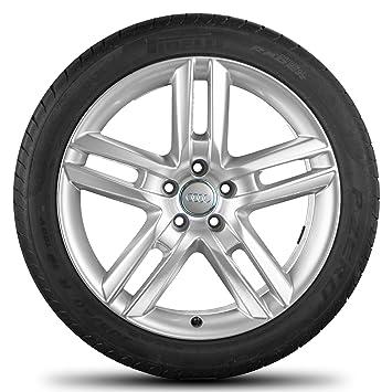 Audi 19 pulgadas Llantas A6 S6 4 G Llantas Neumáticos de verano verano ruedas 7,5 mm S Line: Amazon.es: Coche y moto