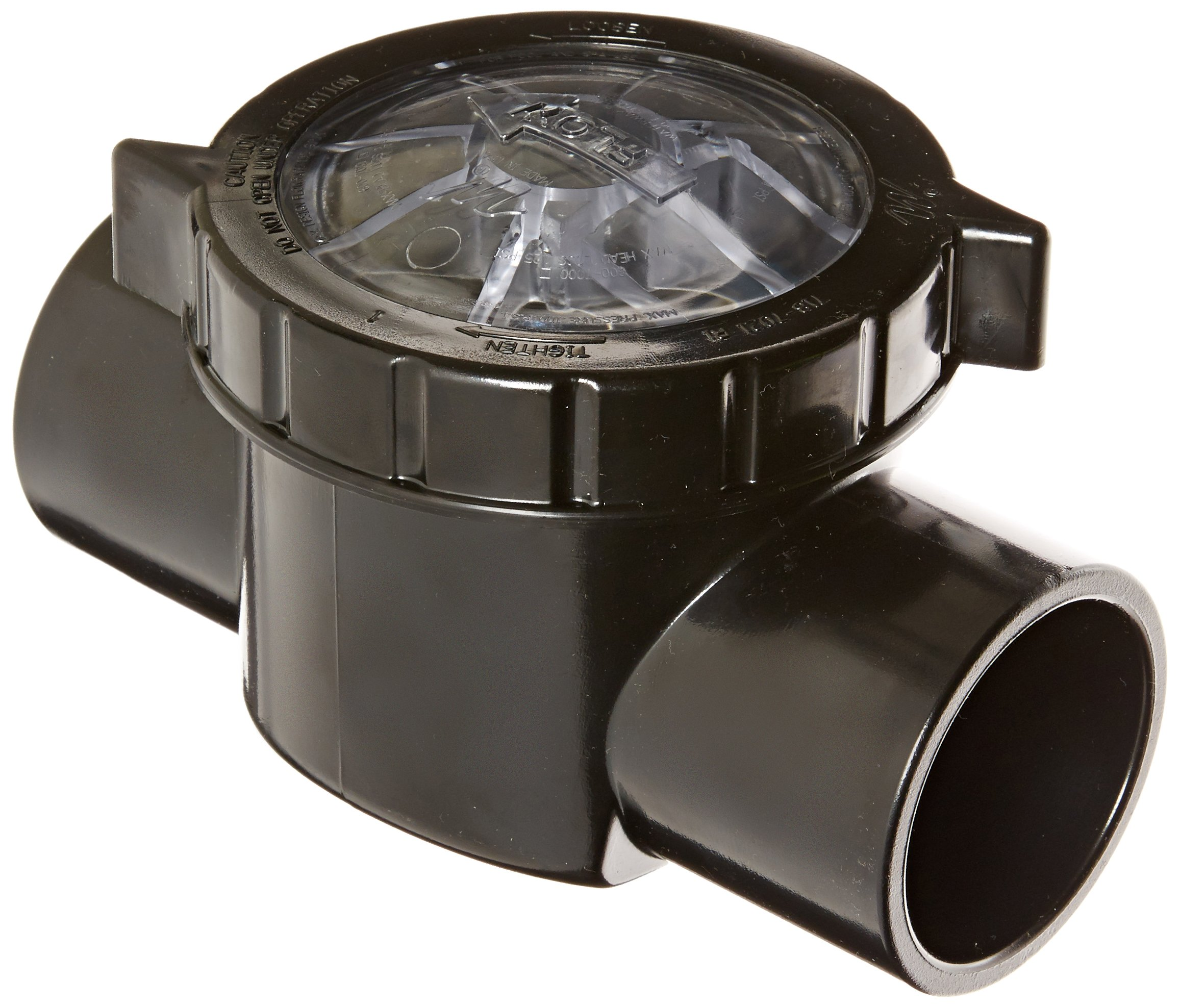 Waterway Plastics 600-7010 TruSeal Serviceable Swing Check Valve by Waterway Plastics