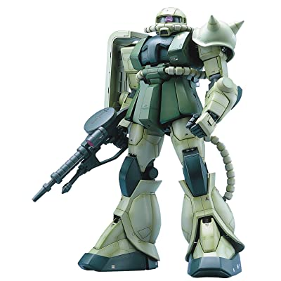 Bandai Hobby MS-06F Zaku II Mobile Suit Gundam Perfect Grade Action Figure, Scale 1:60: Toys & Games [5Bkhe0506633]
