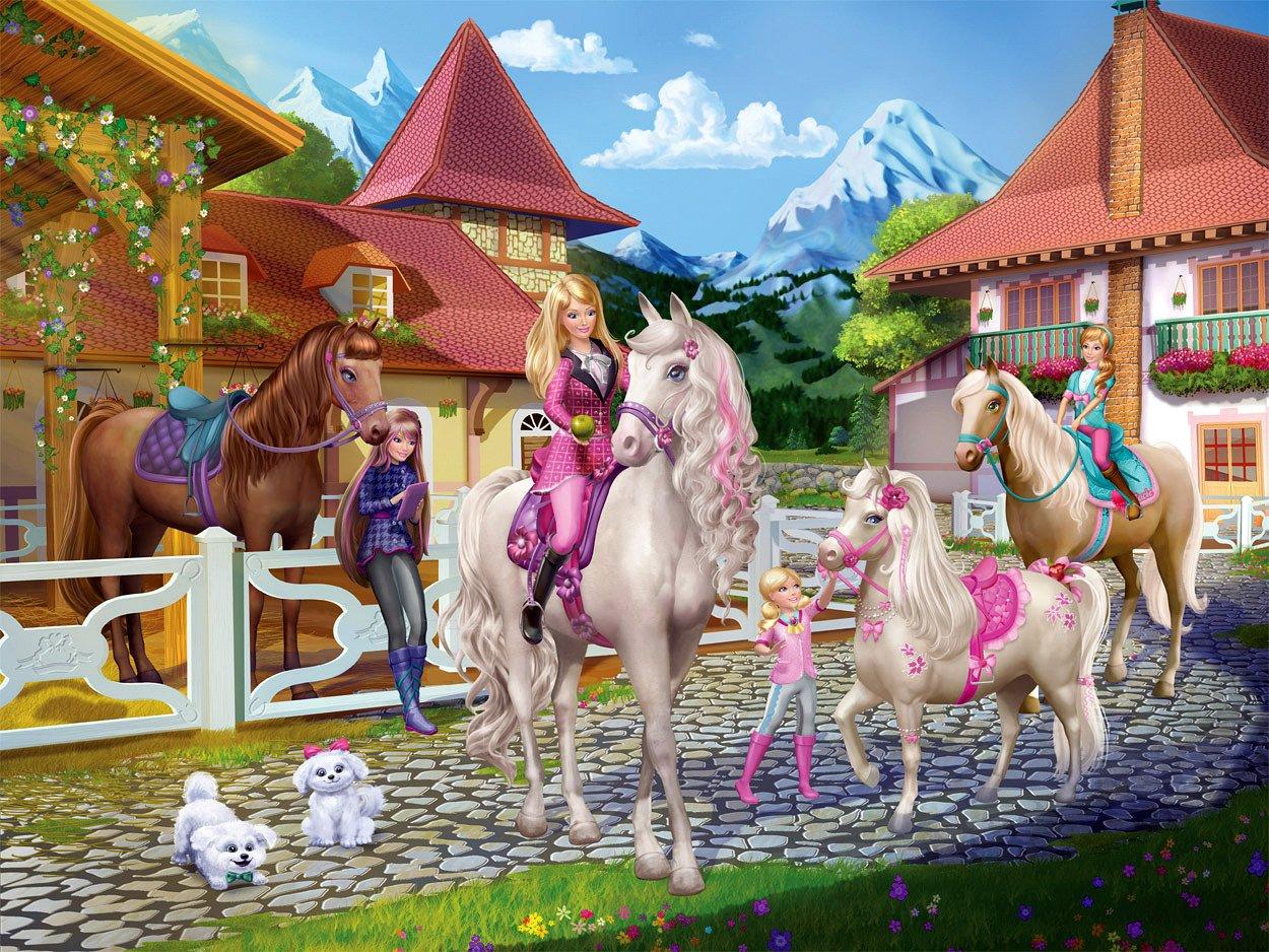 Barbie Und ihre Schwestern im Pferdeglück Blu ray Amazon Kyran Kelly DVD & Blu ray