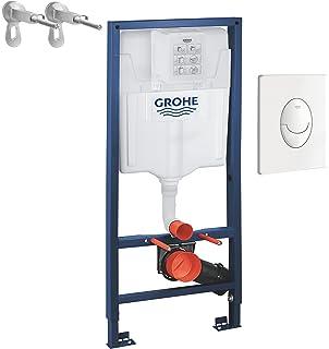 GROHE - 38340001 - Bâti-Support pour WC Suspendu - Mur Porteur ou ... 7ff495672fef