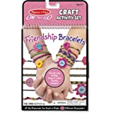 Melissa & Doug 9422 On the Go Friendship Bracelet Craft Set (Makes 10+ Bracelets)