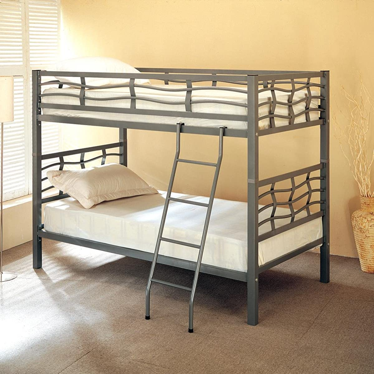 Coaster Twin/Twin Bunk Bed, Metal