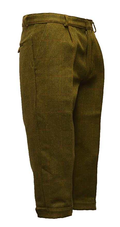 Victorian Kids Costumes & Shoes- Girls, Boys, Baby, Toddler Walker and Hawkes Big Boys Derby Tweed Breeks Shooting Plus Fours Trousers $64.95 AT vintagedancer.com