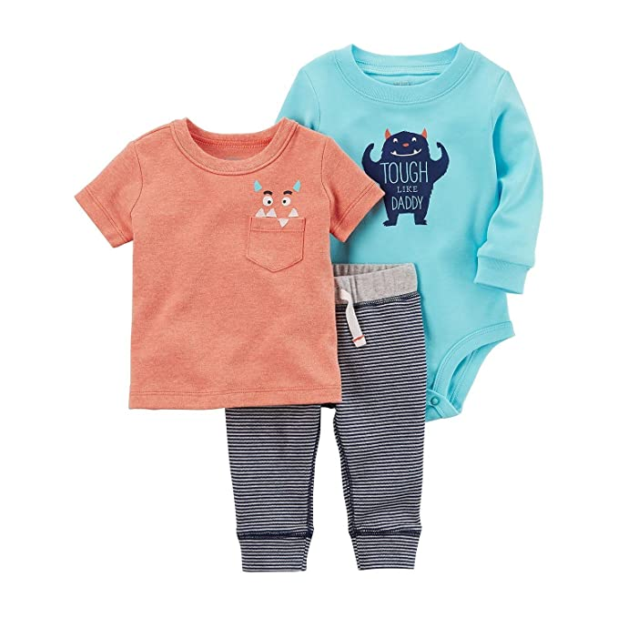 344ab309a Amazon.com  The William Carter Company. Carter s Baby Boys Size 12 ...