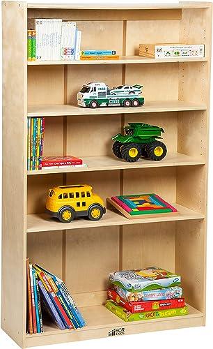 ECR4Kids-ELR-17102 Birch Bookcase