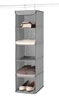 Beautiful Whitmor 5 Section Closet Organizer   Hanging Shelves With Sturdy Metal Frame