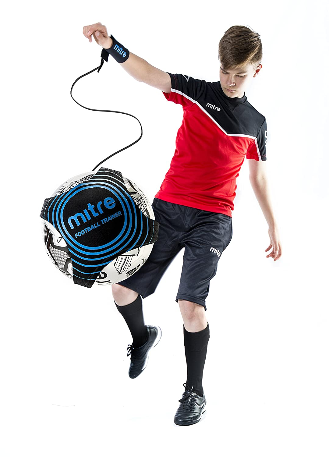 Amazon.com : mitre Youth Soccer Solo Trainer : Sports & Outdoors