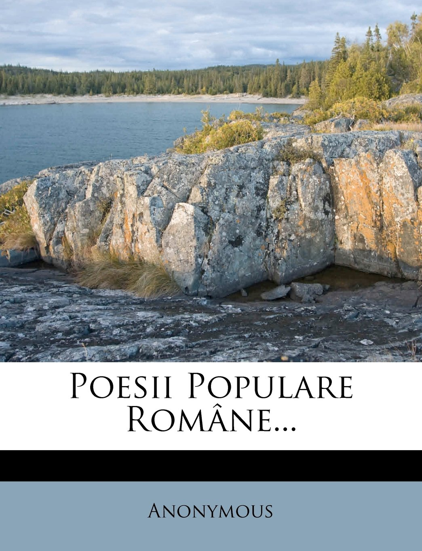 Poesii Populare Române... (Romanian Edition)