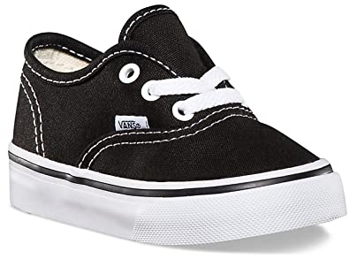 VANS Toddlers Authentic Black VN000ED9BLK Toddler 6  Amazon.ca ... f06e9e33f