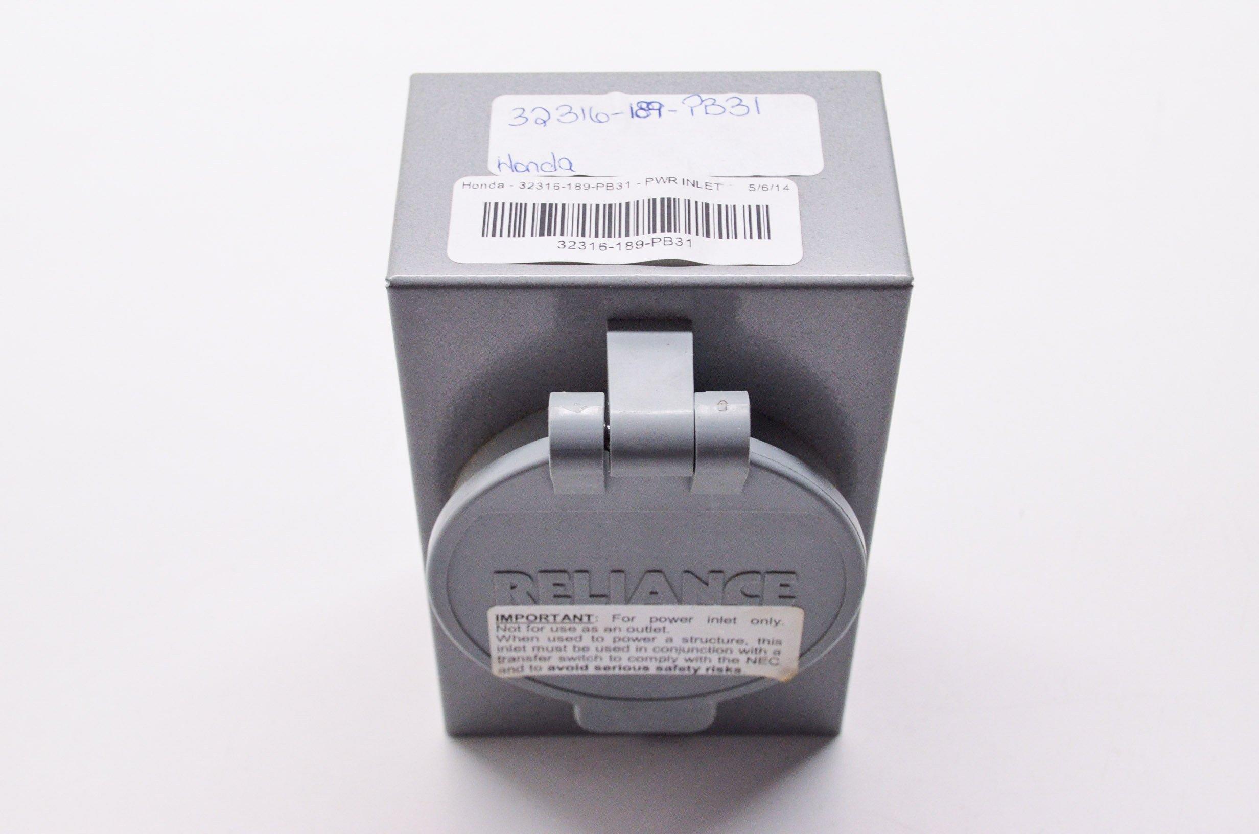 Honda 32316-189-PB31 Pwr Inlet Box,L5-30; 32316189PB31 Made by Honda