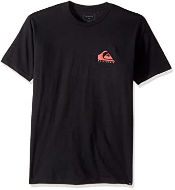 Quiksilver mens California Flag Mountain and Wave Tee T