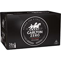 Carlton Zero Beer Case 24 x 330mL Bottles