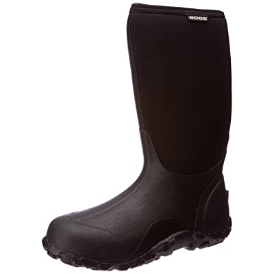 Bogs Mens Classic High No Handle Waterproof Insulated Rain and Winter Snow Boot | Boots