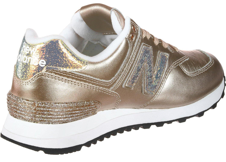 new balance wl574v2 glitter pack sneaker donna