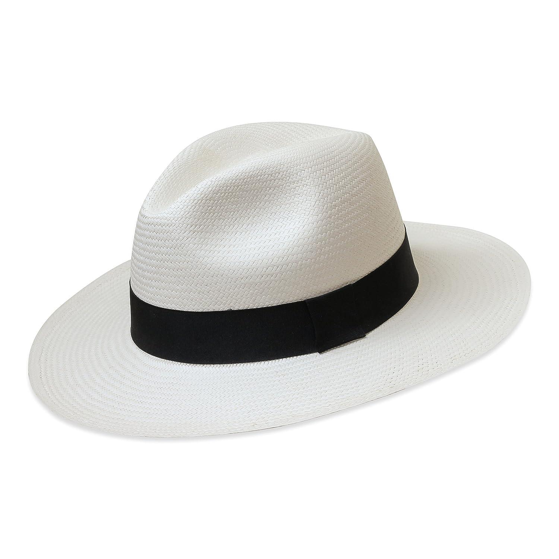 Tumia LAC Cappello Panama Fedora- Versione non arrotolabile - Vari colori   Amazon.it  Abbigliamento cfedbc45aa69
