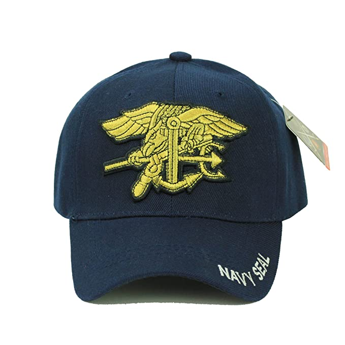 27e65e35da8 Navy Seal U.S. Military Cap Hat Official at Amazon Men s Clothing store