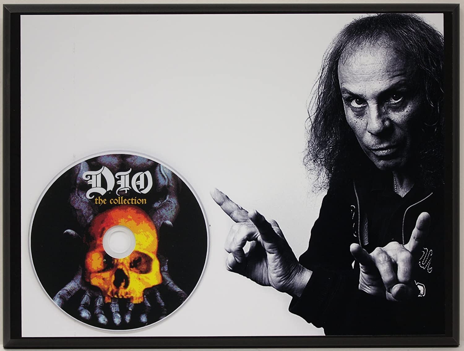 Dio Limited Edition Picture Disc CD Rare Collectible Music Display Gold Record Outlet
