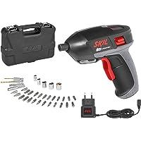 Skil F0152636ADVisseuse sans fil 3,6V avec Chargeur USB (Li-ion 1,5Ah, 7 Nm, LED Lampe, 35 pièces Set d'accessoires, Coffret)