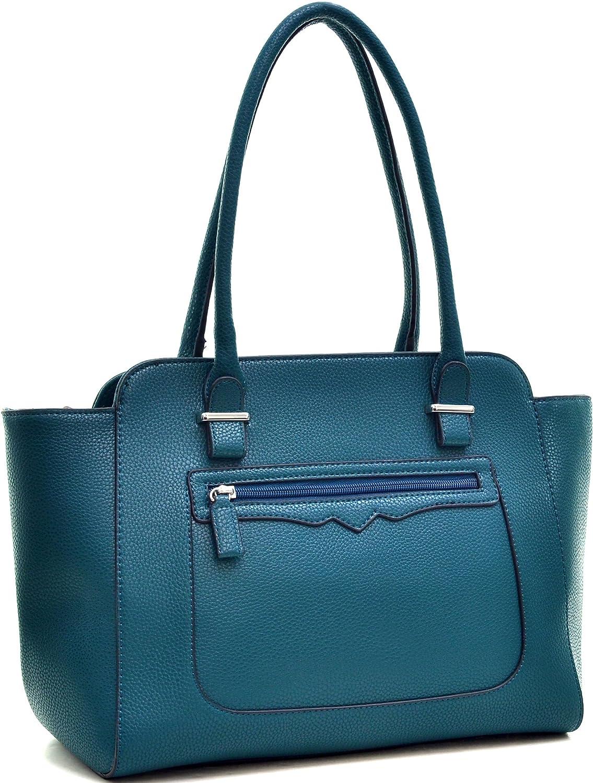 Women Large Designer Top Handle Handbag Purse Tote Bag Work Bag Shopping Travel Bag