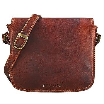 5d50acc81fb08 STILORD  Isabelle  Umhängetasche Damen Leder klein Handtasche Elegante  Schultertasche Vintage Ledertasche Partytasche Freizeittasche Ausgehtasche
