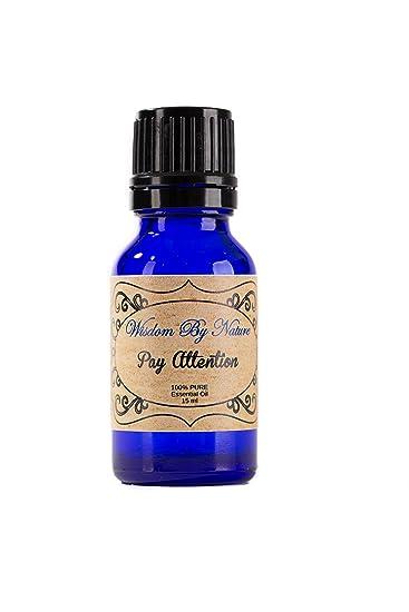 Amazon Com Pay Attention Essential Oil 0 50 Oz Lavender