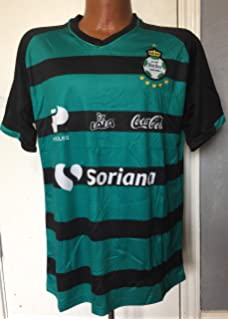 Full 90 Club Santos Laguna Black/Green GENERICA Jersey