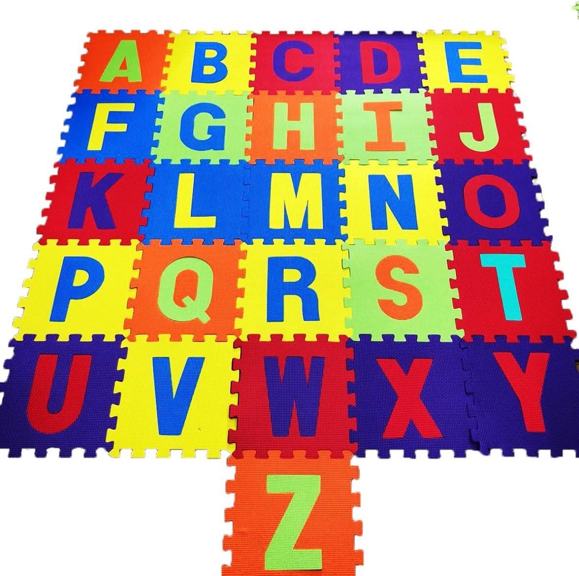 26pcs Soft EVA Foam Baby Children Kids Play Mat Alphabet Letters Puzzle Jigsaw