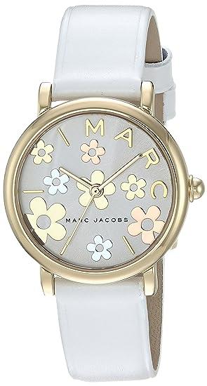 Marc Jacobs Roxy Reloj de Mujer Cuarzo 28mm Correa de Piel de Ternero MJ1607: Amazon.es: Relojes