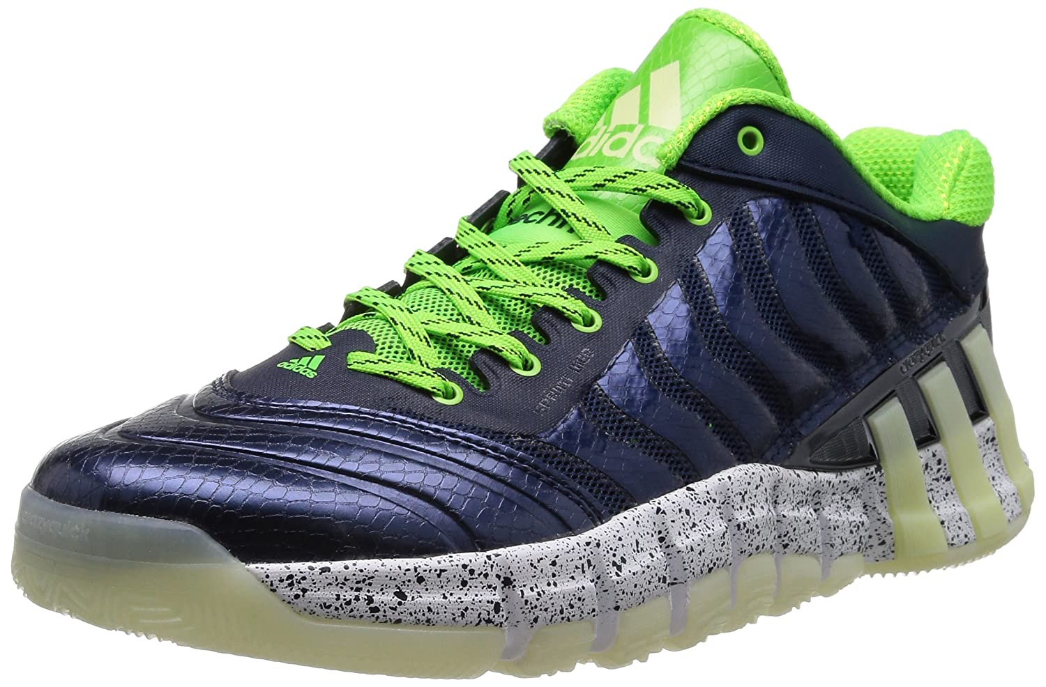 the best attitude 5a60d 41bec Amazon.com  adidas Crazyquick 2 Low Mens Basketball  SneakersShoes-Blue-13.5  Basketball