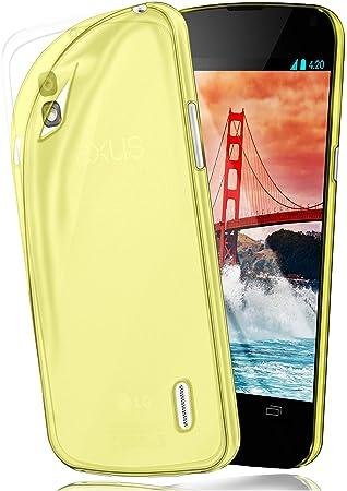 Funda Protectora OneFlow para Funda LG Google Nexus 4 Carcasa Silicona TPU 0,7 mm | Accesorios Cubierta protección móvil | Funda móvil paragolpes ...