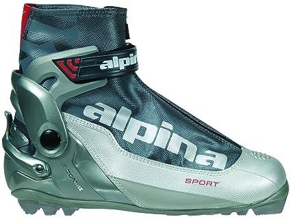 Amazoncom Alpina S Combi Sport Series CrossCountry Nordic Ski - Alpina cross country boots