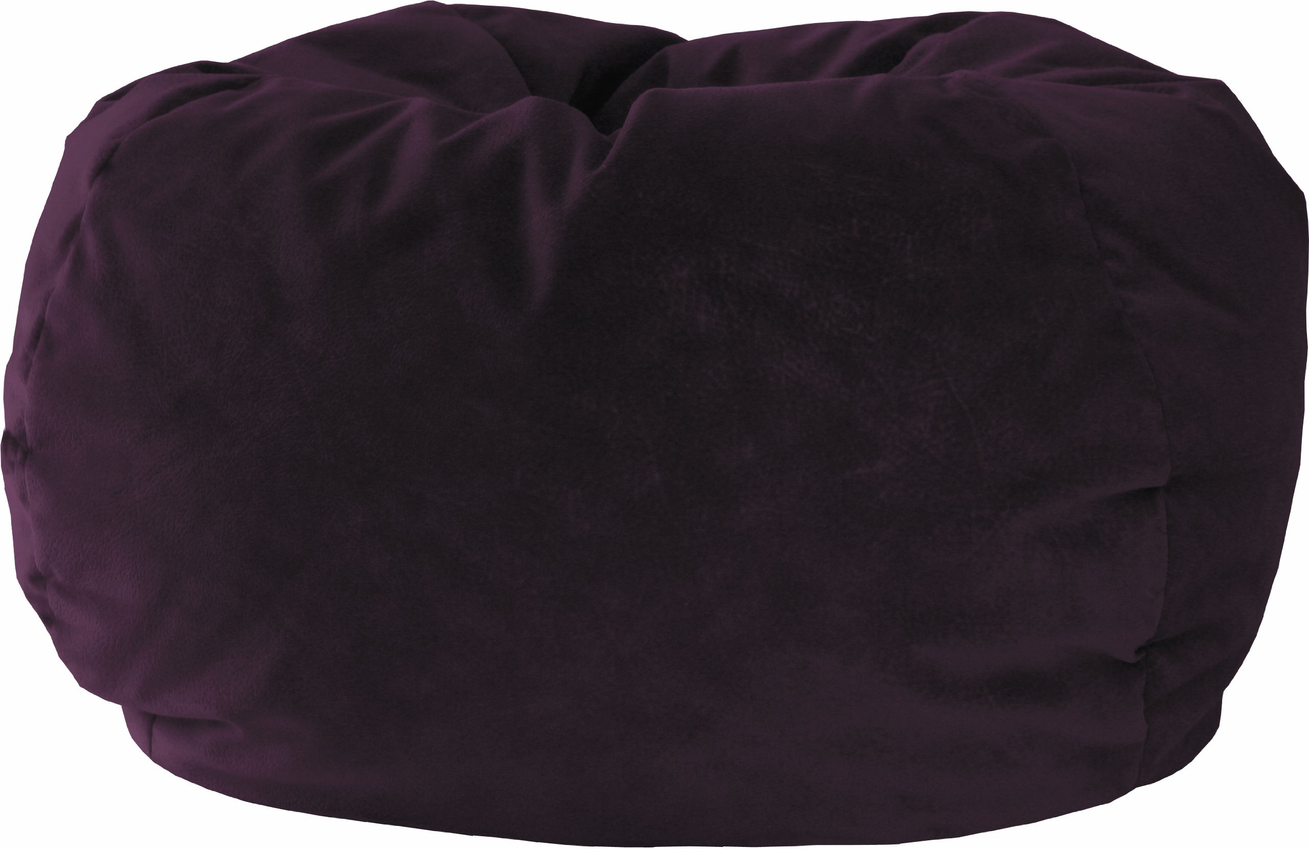 Gold Medal Bean Bags 30012858847 X-Large Fairview Suede Bean Bag, Wine