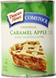 Comstock Original Pie Filling & Topping, Caramel Apple, 21 Ounce
