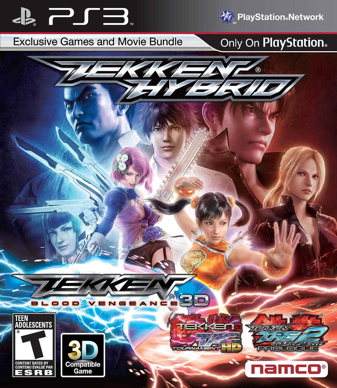 Namco Bandai Games Tekken: Hybrid, PS3 PlayStation 3 Inglés vídeo - Juego (PS3, PlayStation 3, Lucha, Modo multijugador, T (Teen)): Amazon.es: Videojuegos